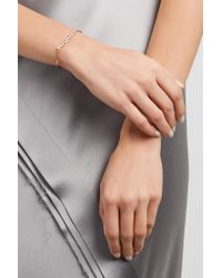Kimberly Mcdonald - Metallic 18-karat Rose Gold Diamond Bracelet - Lyst