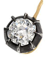 Fred Leighton - Metallic Collection 18-karat Gold Diamond Earrings - Lyst