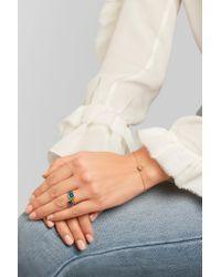 Pippa Small - Metallic 18-karat Gold Diamond Bracelet - Lyst