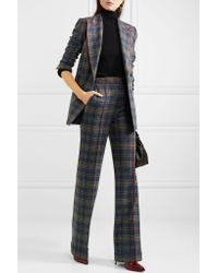 Gabriela Hearst - Blue Angela Checked Merino Wool Blazer - Lyst
