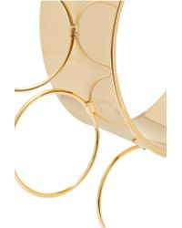 Arme De L'Amour - Metallic Halo Gold-plated Cuff - Lyst