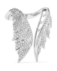 Stephen Webster - Magnipheasant 18-karat White Gold Diamond Ring - Lyst