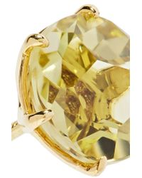 Ippolita - Metallic Rock Candy 18-karat Gold Citrine Earrings - Lyst