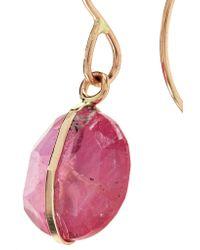 Melissa Joy Manning - Metallic 14-karat Gold Sapphire Earrings Gold One Size - Lyst