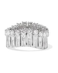 Anita Ko | Metallic Ava Wave 18-karat White Gold Diamond Ring | Lyst