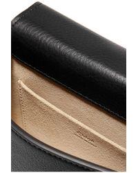 Chloé | Black Nile Bracelet Small Textured-leather Shoulder Bag | Lyst