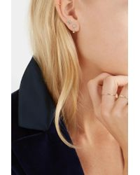 Wwake - Metallic Two Step 14-karat Gold Opal Earrings - Lyst