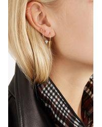 Sansoeurs - Metallic Big Spark 18-karat Gold Diamond Earring - Lyst