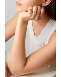 Anita Ko - Metallic Saturn 18-karat Rose Gold Diamond Ring - Lyst