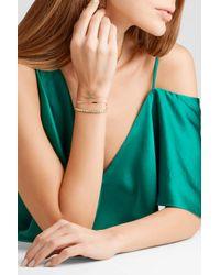 Jennifer Meyer - Metallic 18-karat Gold Diamond Bracelet - Lyst