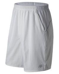 New Balance | White Casino 9 Inch Woven Short for Men | Lyst