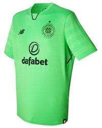 6aead98169e New Balance. 2017-2018 Celtic Third Football Shirt Men's T Shirt In Green