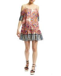 Nicole Miller | Multicolor Mandala Paradise Dress | Lyst