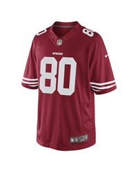 Nike | Red Nfl San Francisco 49ers (jerry Rice) Men's Football Home Limited Jersey for Men | Lyst