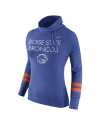 Nike - Blue Championship Drive Obsessed Style (boise State) Women's Top - Lyst