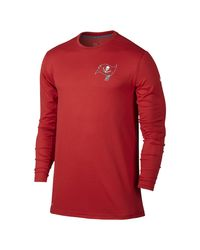 Nike - Red Dri-fit Touch (nfl Buccaneers) Men's Training T-shirt for Men - Lyst