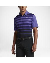 09d4269dc6 Lyst - Nike Mobility Fade Stripe Men's Standard Fit Golf Polo Shirt ...