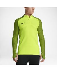 b73a54cd4 Nike Strike Aeroswift Men's 1/4 Zip Soccer Drill Top in Green for ...