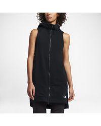 7e7b351dc1bab Lyst - Nike Sportswear Modern Women s Vest in Black