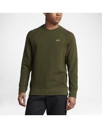 Nike | Green Sb Everett Crew Men's Sweatshirt for Men | Lyst