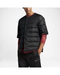 dc3efc152058 Lyst - Nike Lab Essentials Puffer Men s Jacket in Black for Men