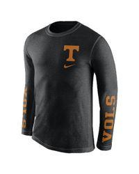 Nike | Black College Tri Fresh (tennessee) Men's Long Sleeve T-shirt for Men | Lyst