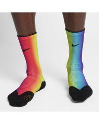 dd521506c Nike Elite Cushion Crew Betrue Running Socks for Men - Lyst