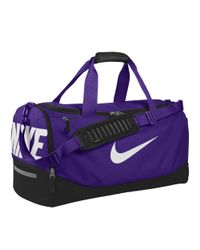 Nike | Team Training Max Air Id Duffel Bag (medium) (purple) for Men | Lyst