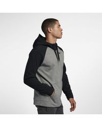 Nike - Gray Therma Utility-Trainings-Hoodie mit Viertelreißverschluss für Herren for Men - Lyst