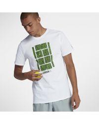 f36958ed Nike Court Icon Men's Tennis T-shirt in White for Men - Lyst
