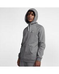 602a84139f830a Nike Jordan Sportswear Jumpman Air Full-zip Hoodie in Gray for Men ...