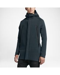 Lyst Men's Nike Sportswear For Parka Black In Men Tech Fleece r7rqxPngI