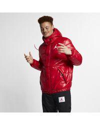 53b2a53a56f6 Nike Jordan Jumpman Puffer Jacket in Red for Men - Lyst