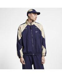 4e26af17ad Nike X Cav Empt Track Jacket in Blue for Men - Lyst