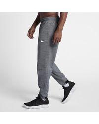 59e0ec4f14de Lyst - Nike Therma Men s Basketball Pants in Gray for Men