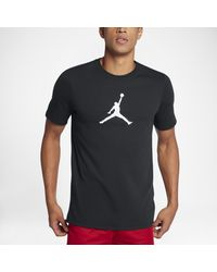 Nike - Black Tee-shirt Jordan Dri-FIT JMTC 23/7 Jumpman pour Homme for Men - Lyst