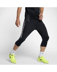694e01302d95 Nike Dry Squad Men's 3/4 Soccer Pants in Black for Men - Lyst
