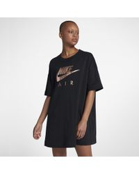 73bd73dd1e002 Nike Air Women's Dress in Black - Lyst