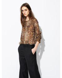 Nili Lotan - Multicolor Harper Silk Blouse - Lyst