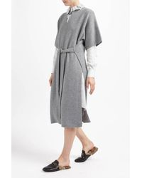 Joseph   Multicolor Cashmere Luxe Felicie Tunic Dress   Lyst