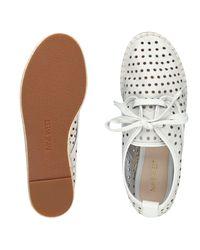 Nine West | White Garza Platform Sneakers | Lyst