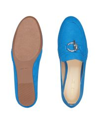 Nine West - Blue Behere Loafers - Lyst