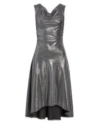 Tracy Reese - Multicolor Draped High/low Dress - Lyst