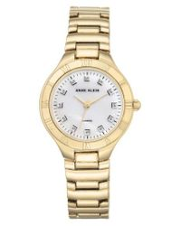 Anne Klein - Metallic Bracelet Watch - Lyst