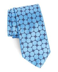 Ted Baker - Orange Spots Ii Silk Tie for Men - Lyst