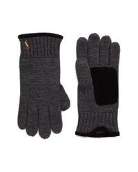 Polo Ralph Lauren - Multicolor Classic Luxe Merino Wool Gloves for Men - Lyst