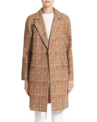 Lafayette 148 New York | Brown Lawson Coat | Lyst