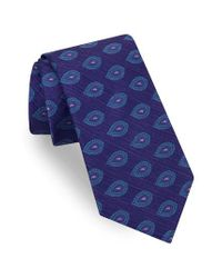 Ted Baker - Purple Superb Paisley Silk Tie for Men - Lyst