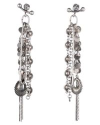DANNIJO | Metallic Brisa Drop Earrings | Lyst