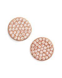 Kate Spade - Pink Shine On Stud Earrings - Lyst